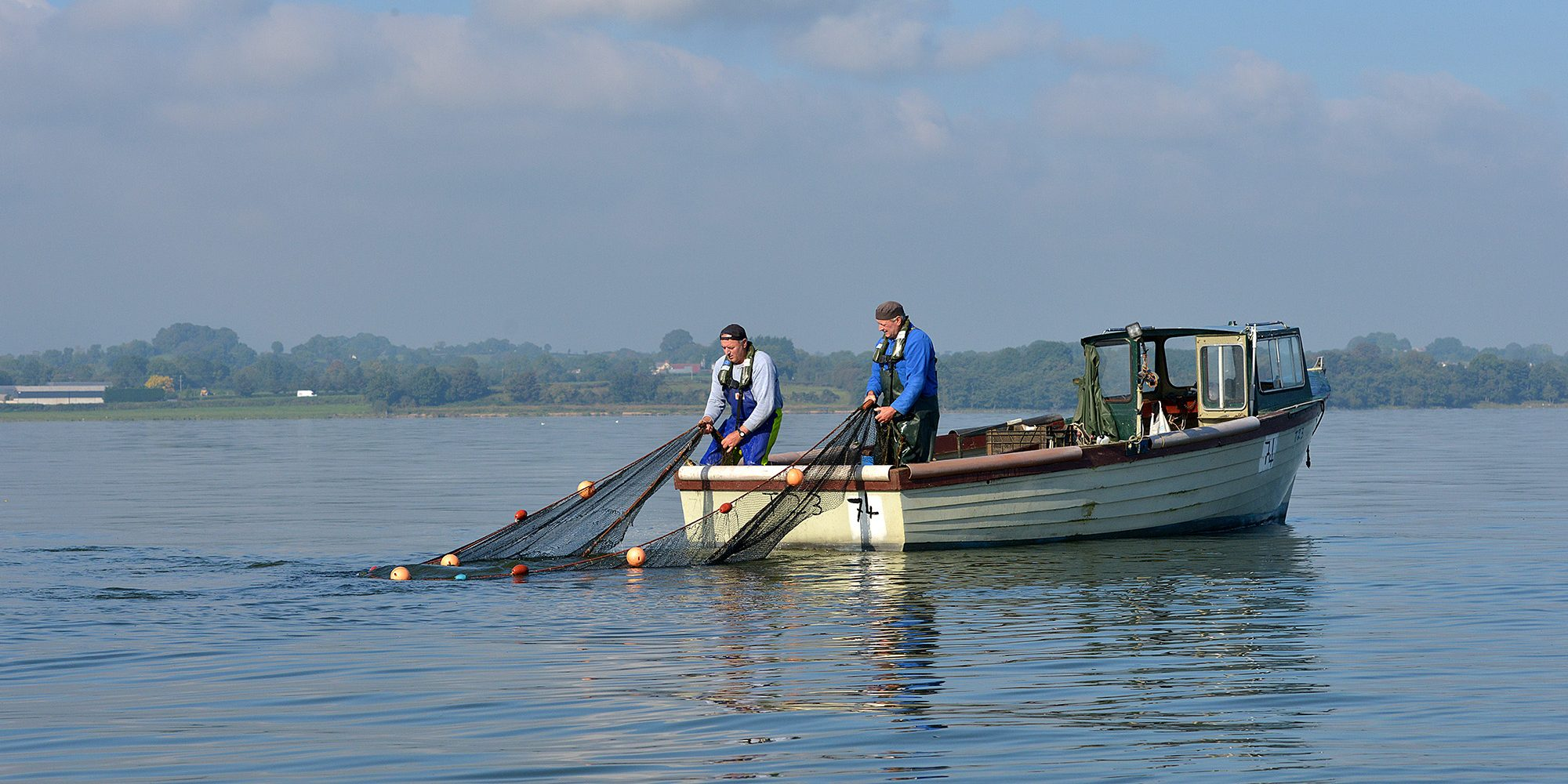 Lough Neagh Eel Fishermen